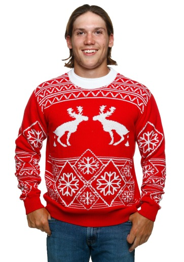 pooping-moose-ugly-christmas-sweater