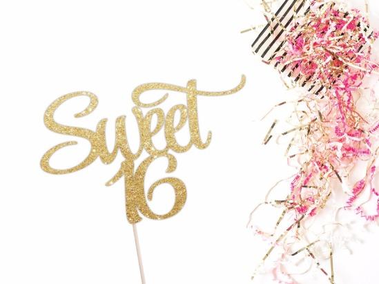 sweet-16-cake-topper-happy-sweet-16-birthday-cake-topper-sweet-sixteen-16th-birthday-party-sweet